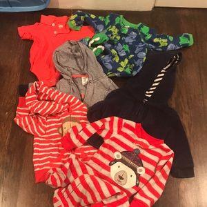 Other - 9m bundle pajamas hoodies etc